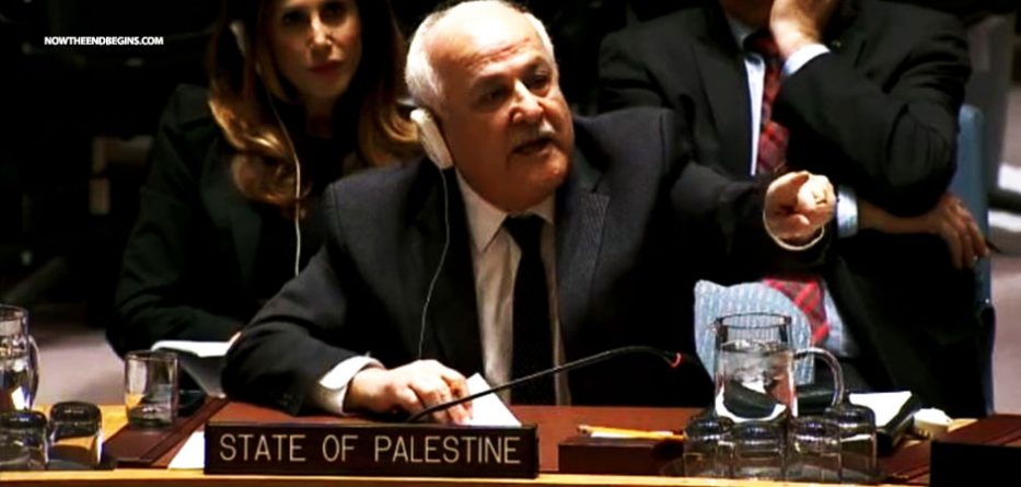 PALESTINIAN UN ENVOY THREATENS DONALD TRUMP IF HE KEEPS PROMISE TO MOVE EMBASSY TOJERUSALEM