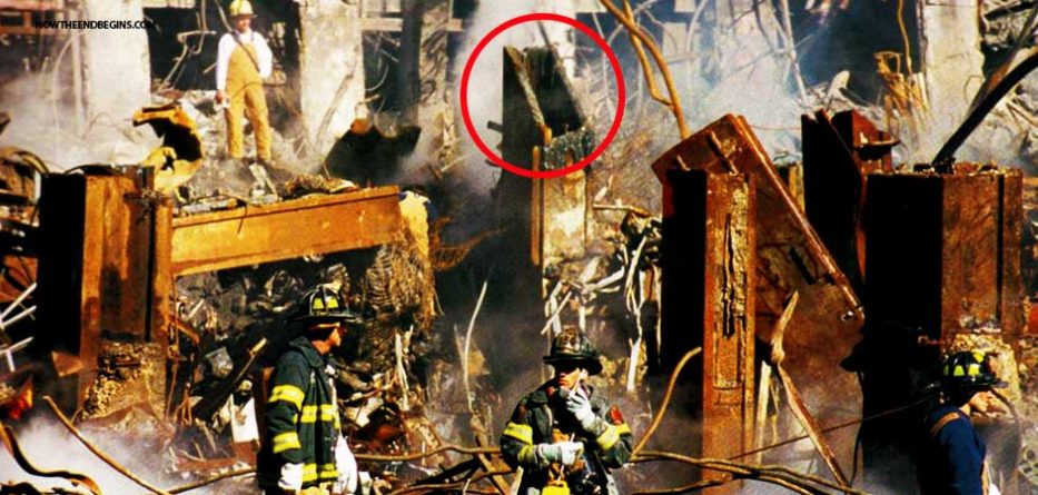 CORE COLUMNS AT WTC WERE CUT AT 45 DEGREE ANGLE, PRIOR TO THEM COMING DOWN ON 9/11