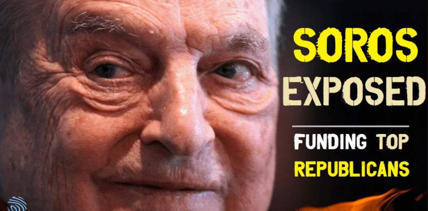 GEORGE SOROS NOT ONLY FUNDING DEMOCRATS, BUT ALSO RINOREPUBLICANS