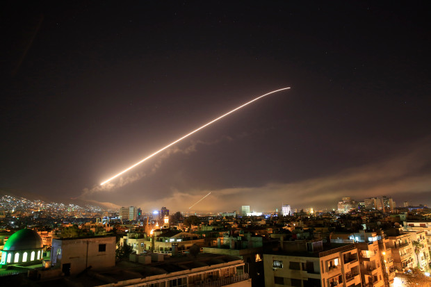 PRESIDENT TRUMP LAUNCHES CRUISE MISSILE ATTACK ONSYRIA