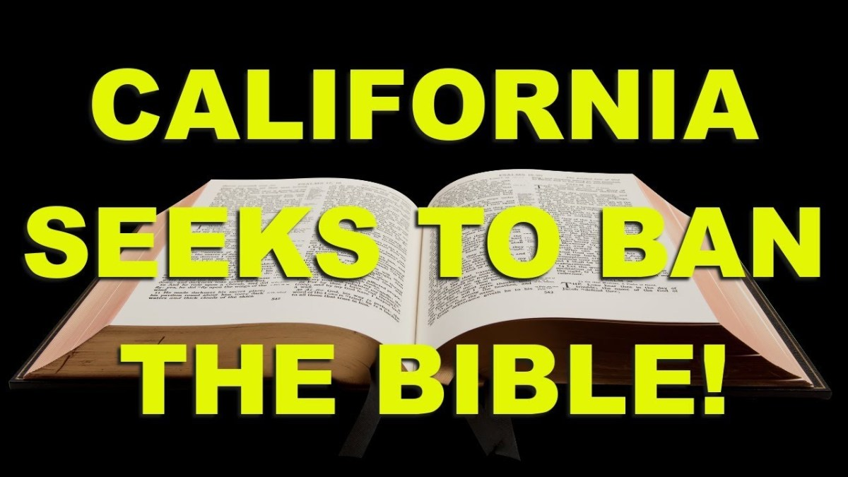 """""""BIBLE BAN"""" CLOSER TO LAW FORCALIFORNIA"""