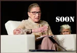 OFFICIAL ANNOUNCEMENT OF RUTH BADER GINSBURG'S DEATH COMING SOON
