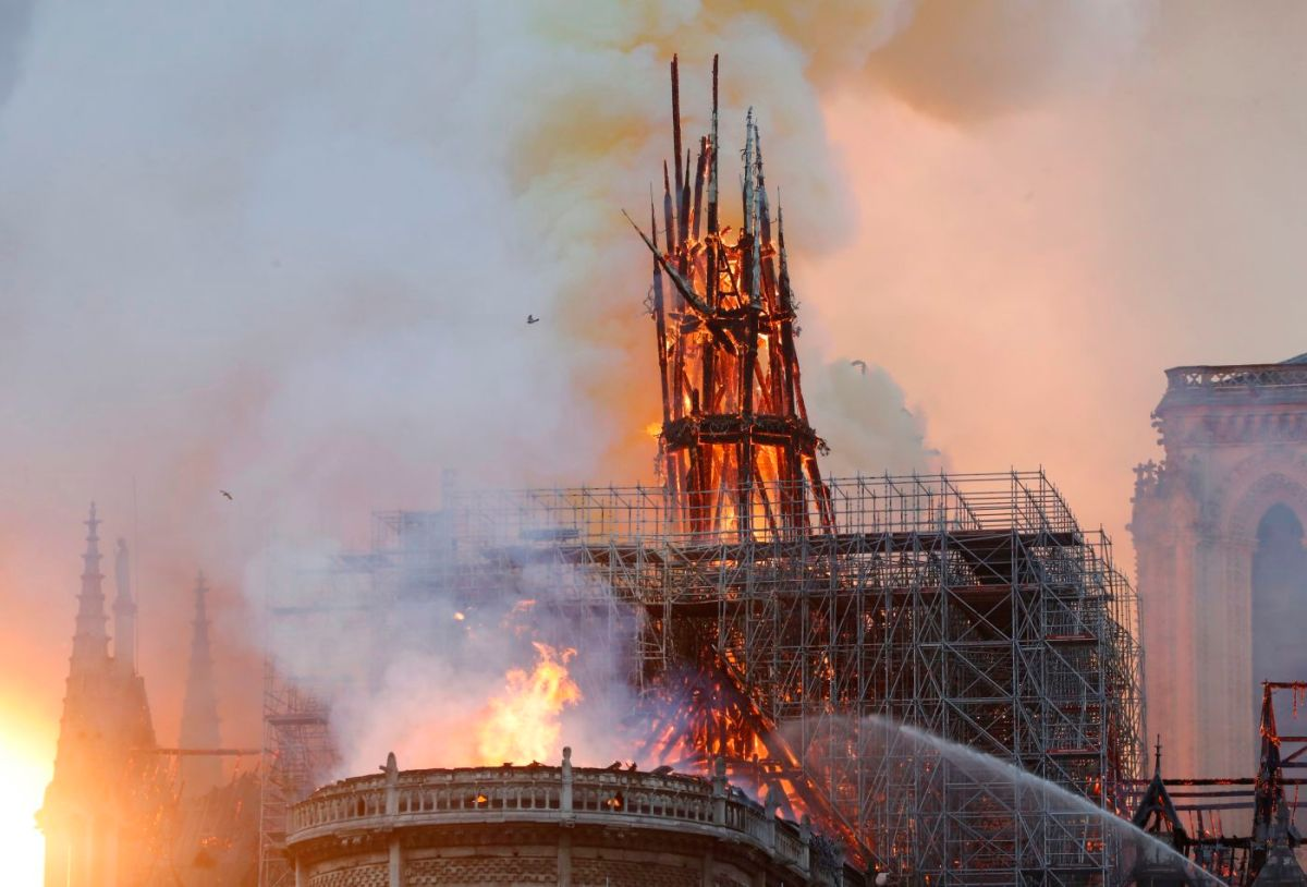 NOTRE-DAME CATHEDRAL FIRE WAS A FALSE FLAG TO KEEP US DISTRACTED