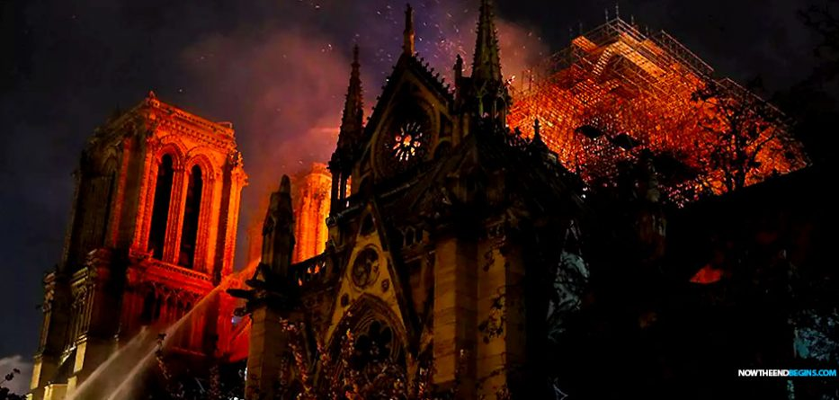 DON'T WEEP OVER THE DESTRUCTION OF THE ROMAN CATHOLIC NOTRE DAMECATHEDRAL