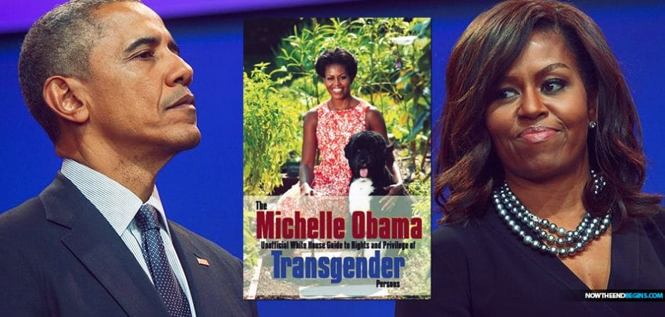 WHY IS NEW BOOK ABOUT TRANSGENDERS NAMED AFTER MICHELLEOBAMA?