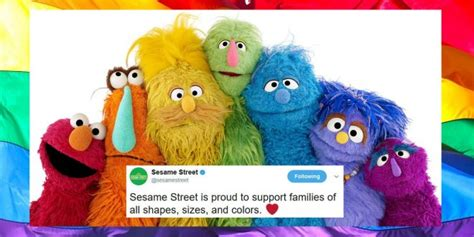 "CROSS-DRESSING LGBTQ+P ACTIVIST TO APPEAR ON ""SESAME STREET"""